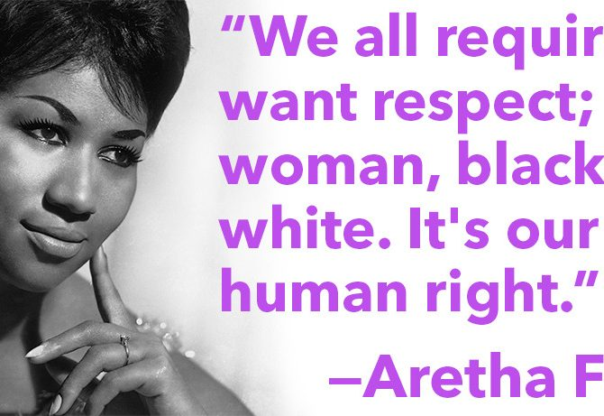 Aretha Franklin respect, Civility in the workplace, Julie Blais Comeau, training