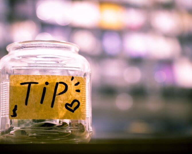 Tipping Etiquette Julie Blais Comeau
