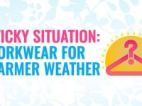 Workwear warm weather infographic
