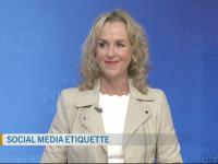 Social Media Etiquette Julie Blais Comeau