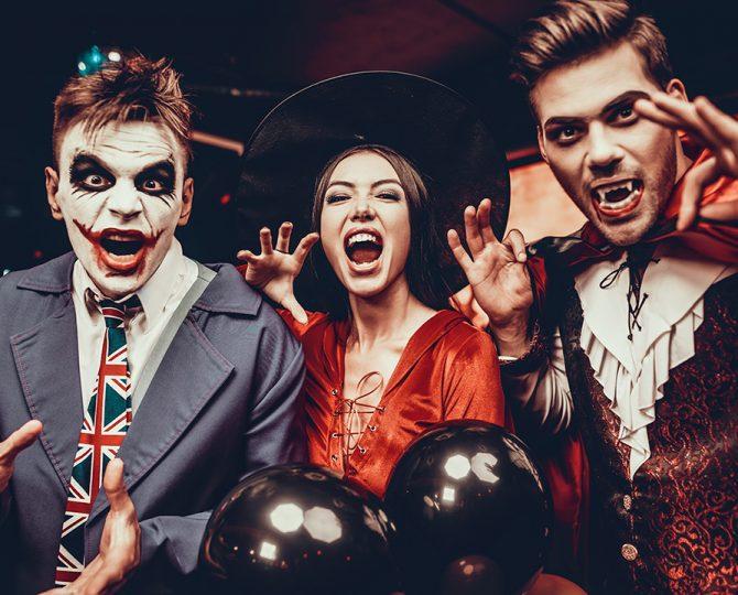 Halloween étiquette Julie Blais Comeau bureau
