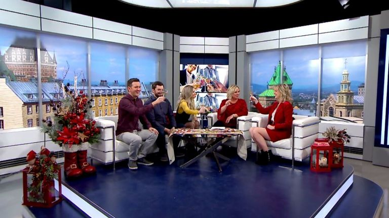 Party de bureau Salut bonjour Weekend Julie Blais Comeau etiquette
