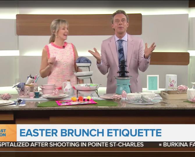 Etiquette Julie Blais Comeau Stress-free Hosting BT Montreal Easter