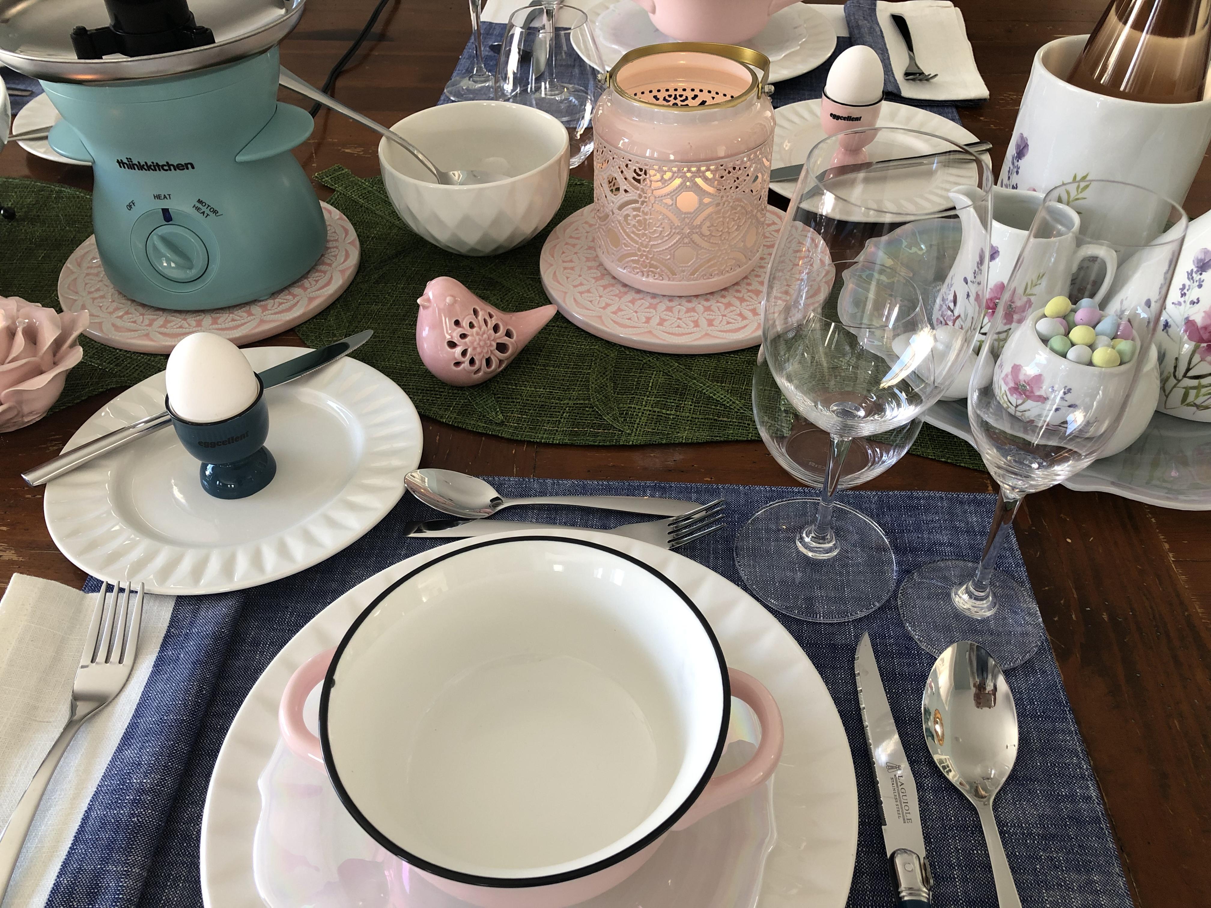 Easter Place Setting Etiquette Julie Blais Comeau Stokes