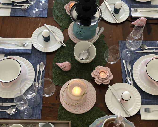 Easter Table Etiquette Buffet Julie Blais Comeau Stpokes
