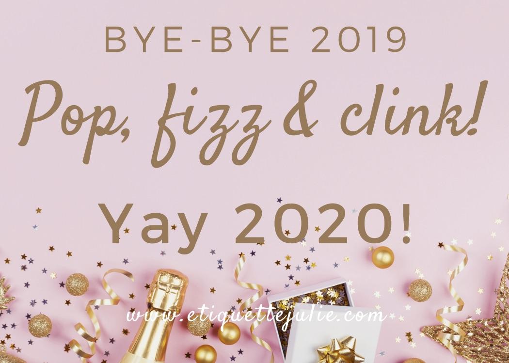 Julie Blais Comeau New Year etiquette