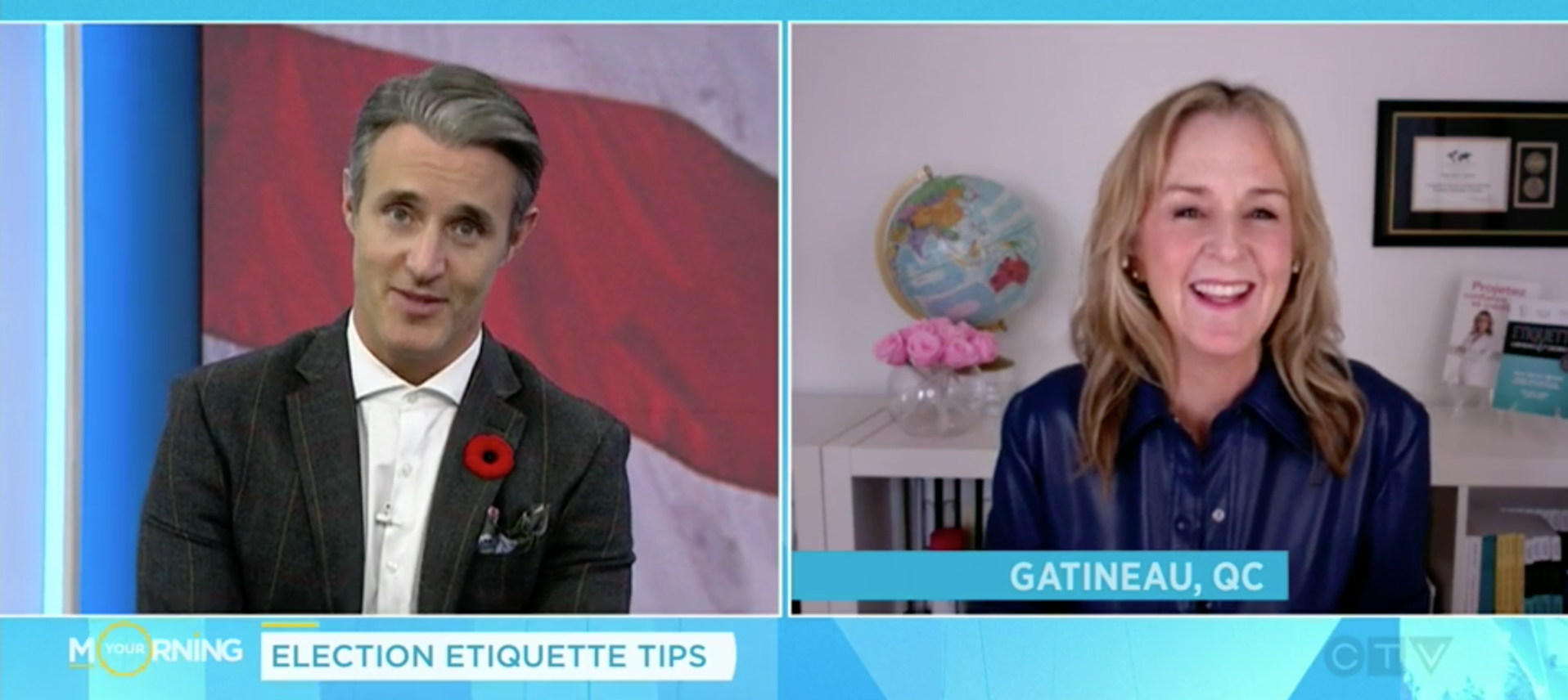 Politics Etiquette Julie Politics elections Ben Mulroney