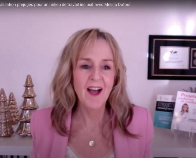 Julie Blais Comeau étiquette formation préjugés inclusion diversité