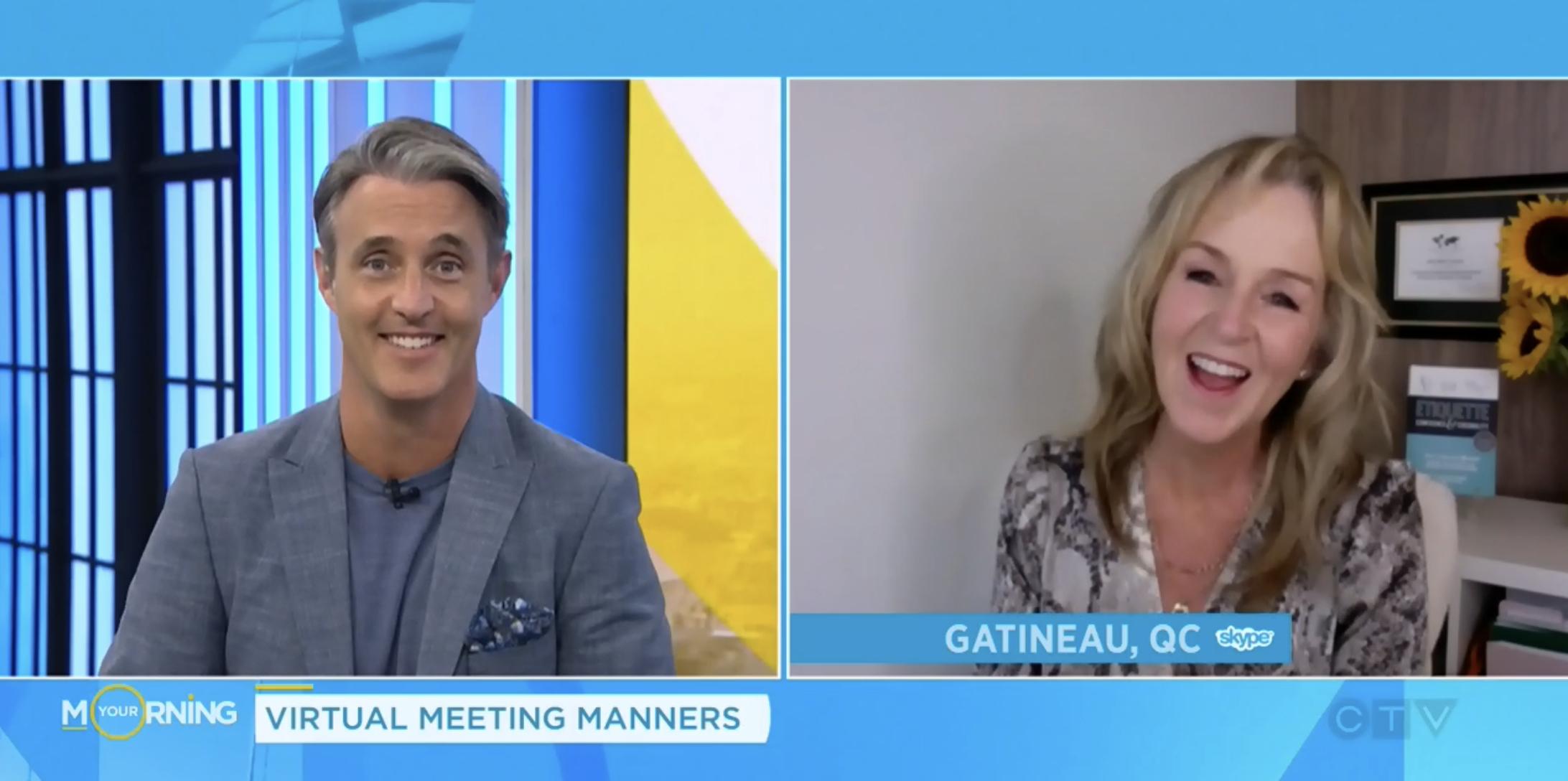 Virtual Meeting Etiquette Julie Blais Comeau